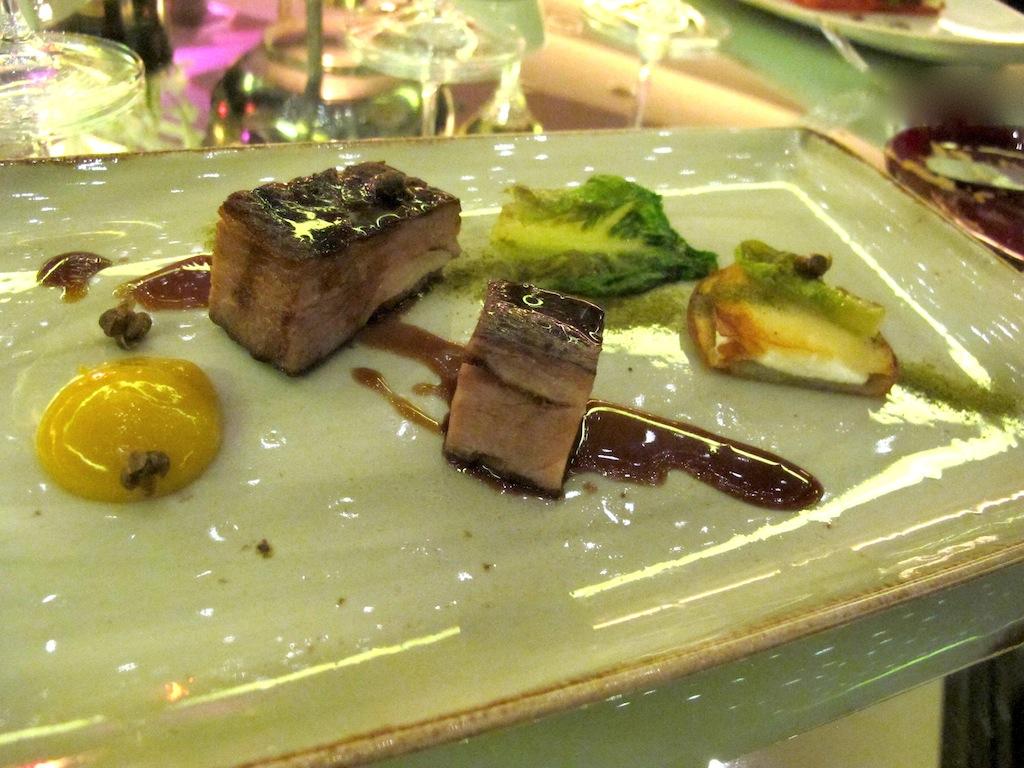 costato di maiale,  Imàgo, Chef Francesco Apreda, Roma, Hotel Hassler