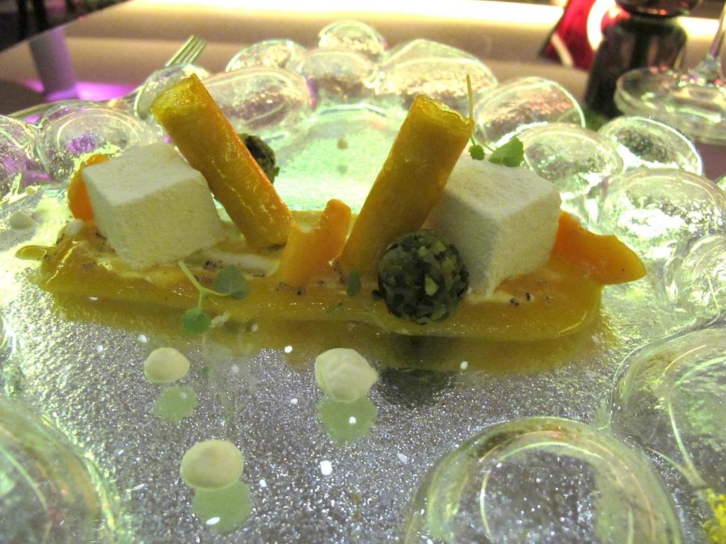 cannoli di mango e albicocca,  Imàgo, Chef Francesco Apreda, Roma, Hotel Hassler
