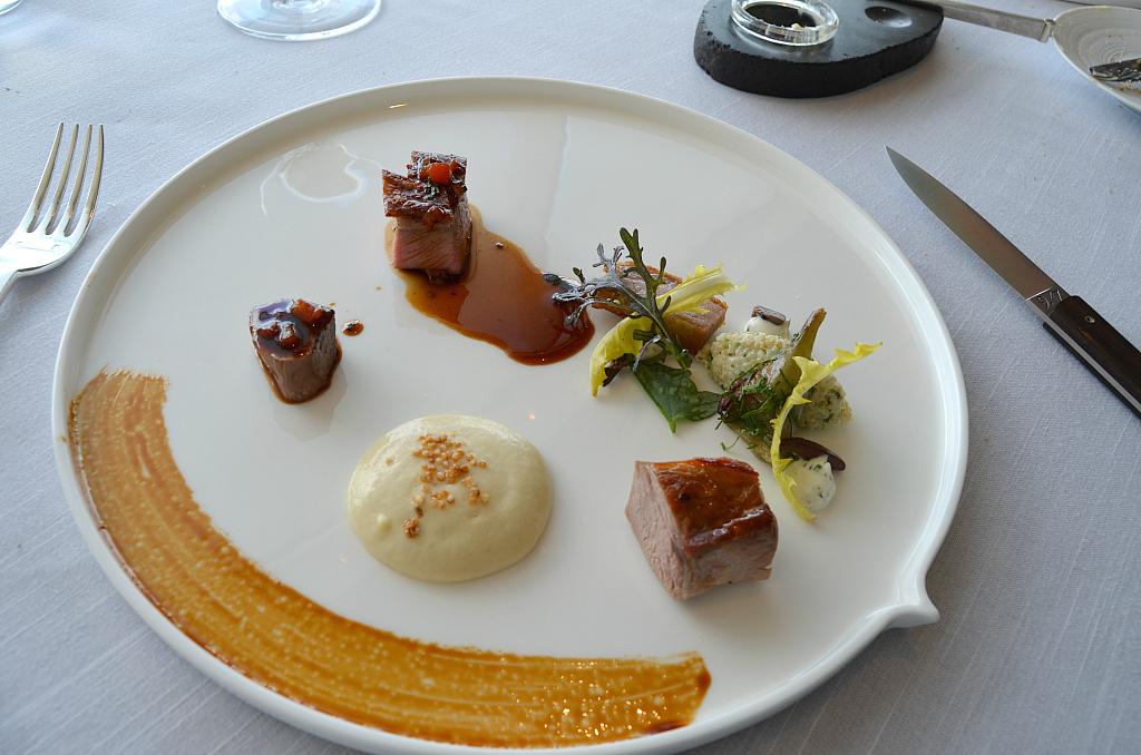 Agnello del galles, Jaan, Chef Julien Royer, Singapore