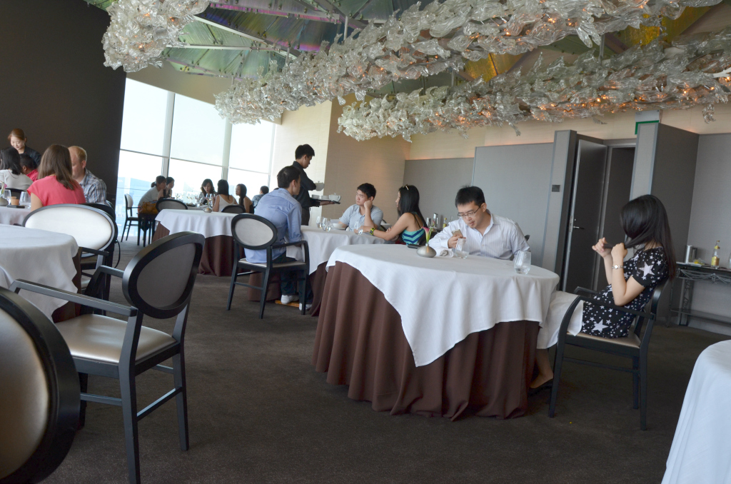 La sala, Jaan, Chef Julien Royer, Singapore