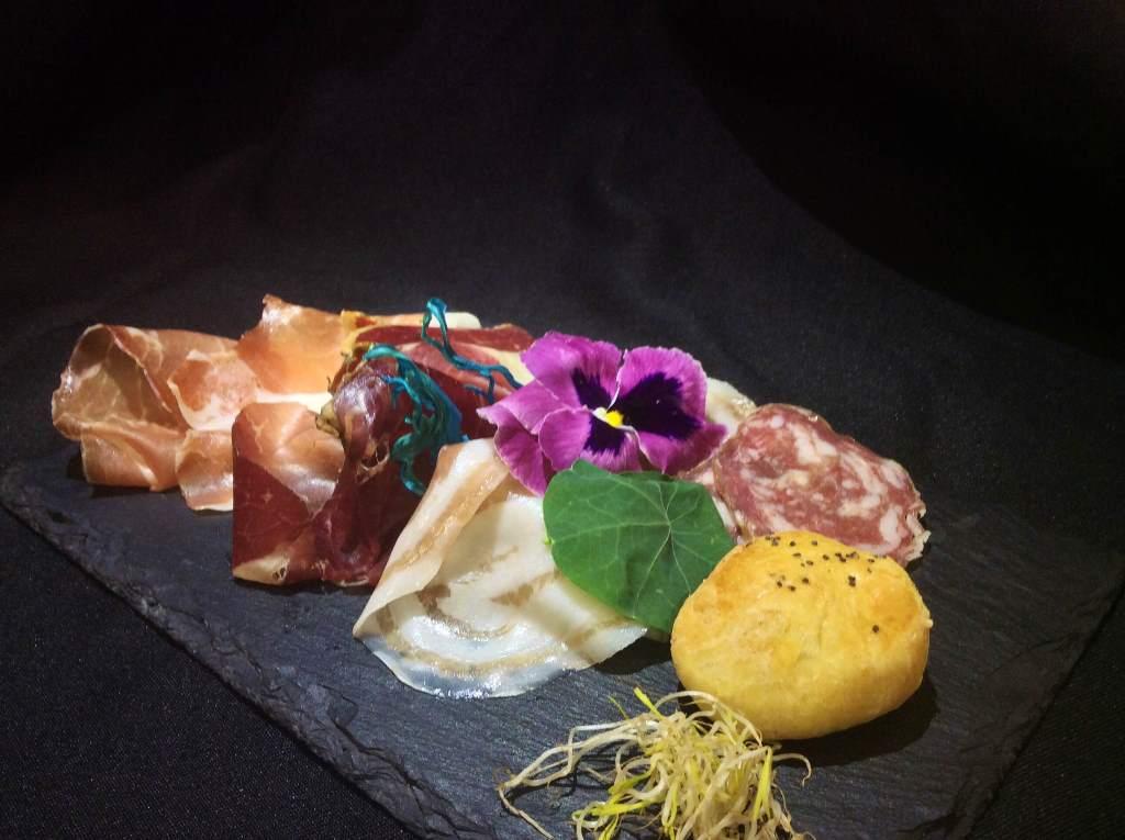 assiette, Laida Weg, Chef P. Bullone, Rima San Giuseppe, Vercelli