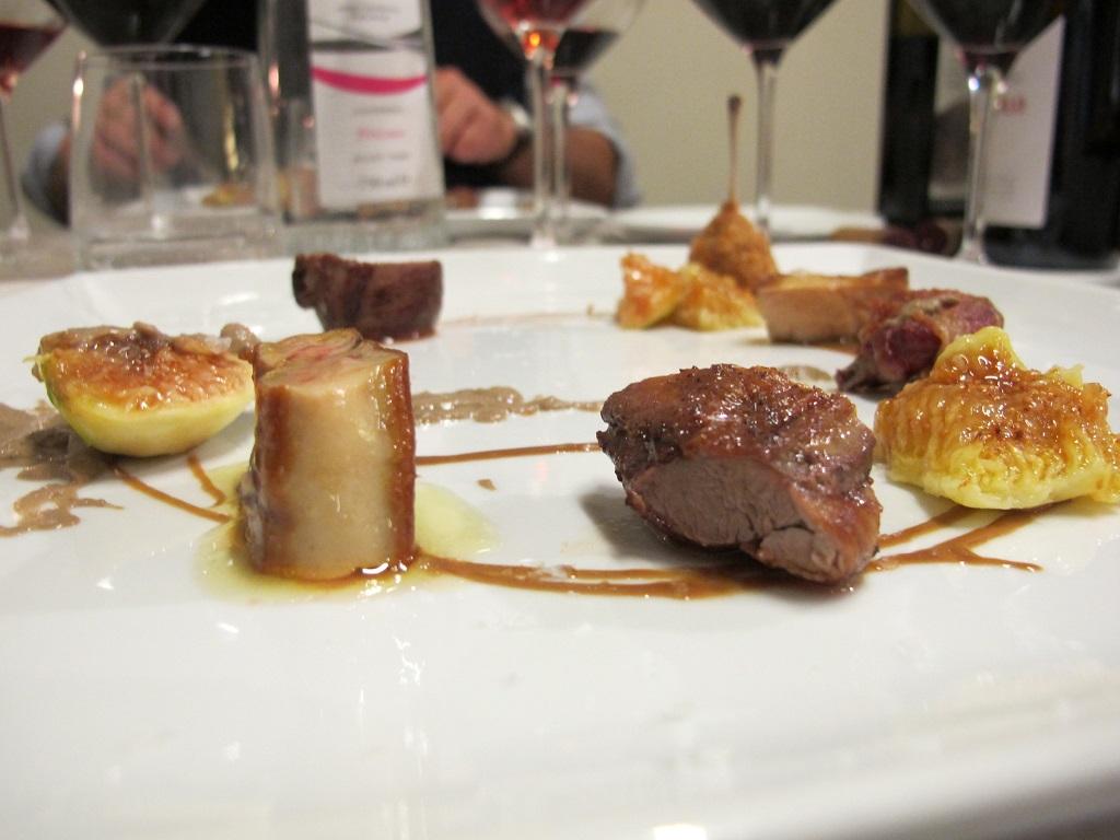 piccione fichi, nocciola, foie gras, Nun, Chef Nicolas Bonifacio, Assisi