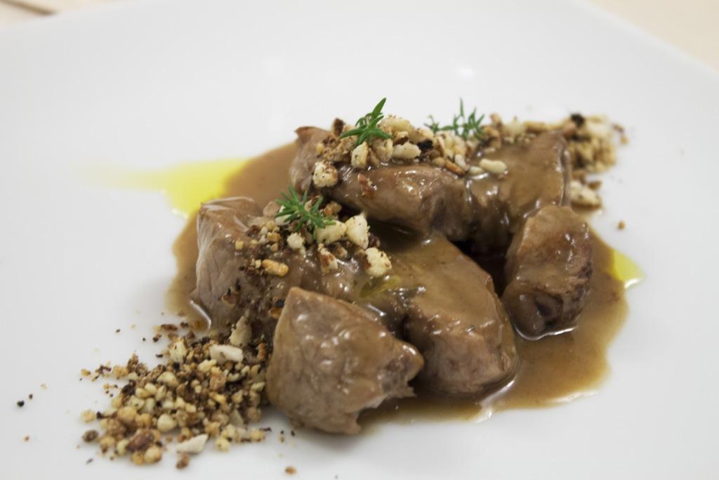 Filetto di maiale, Porta del Vaglio, Chef Gennaro Di Pace, Saracena, Cosenza