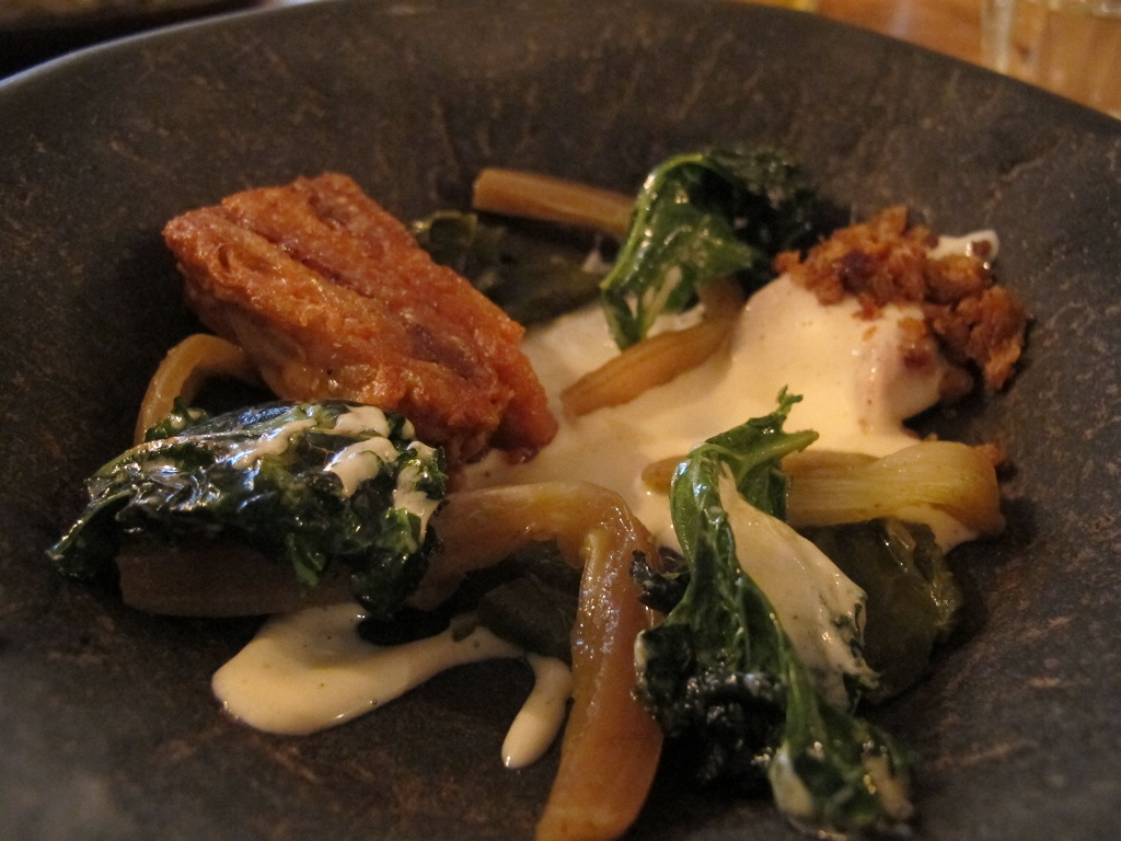 pollo croccante, The Dairy, Chef Robin Gill, London