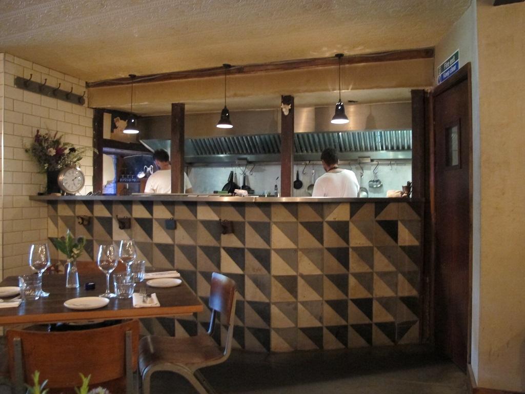 cucina, The Dairy, Chef Robin Gill, London