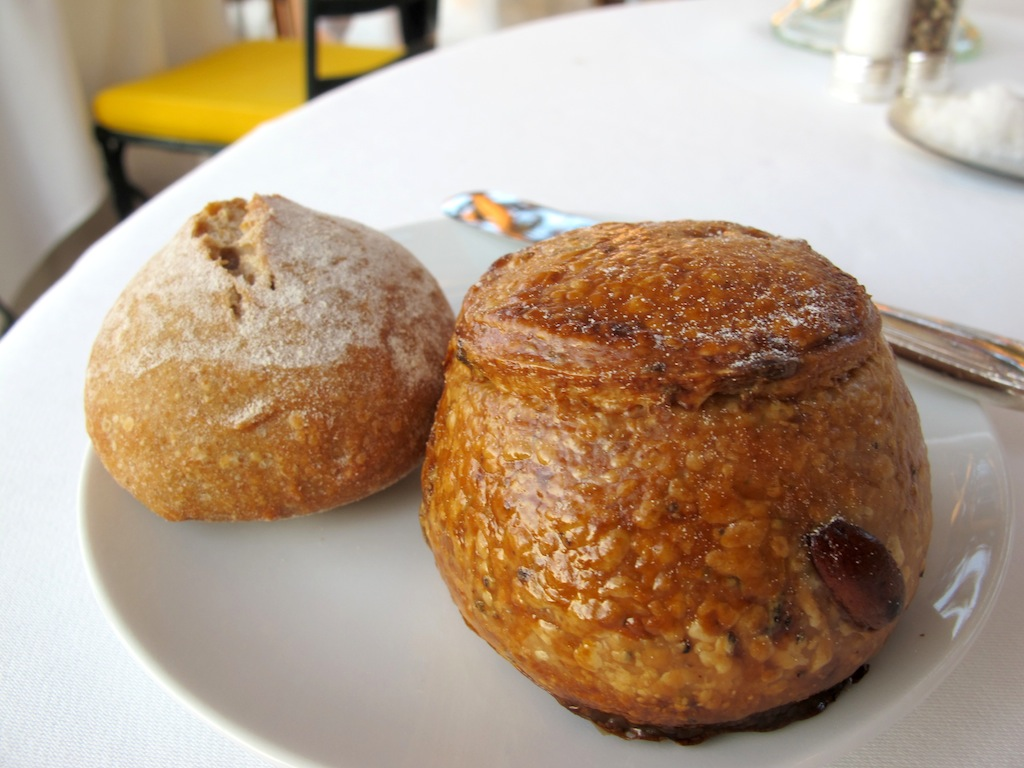 selezione degli ottimi pani, La Vague d'Or, Chef Arnaud Donckele, Saint-Tropez
