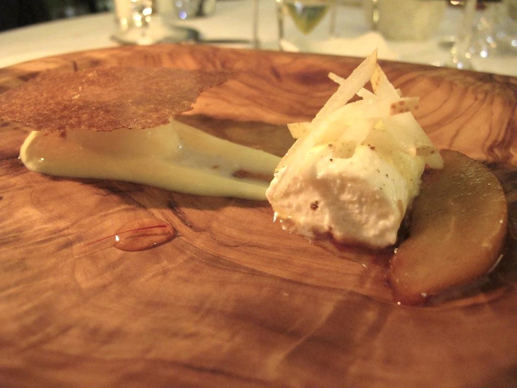 dessert e formaggio, La Vague d'Or, Chef Arnaud Donckele, Saint-Tropez