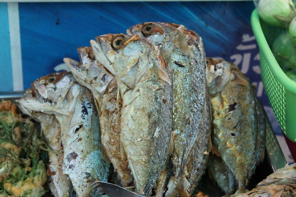 pesce, Thai Street Food, Bangkok, Thailandia