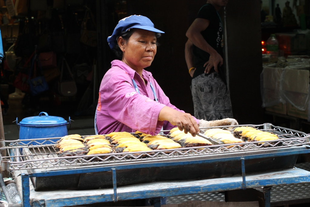 banane, Thai Street Food, Bangkok, Thailandia