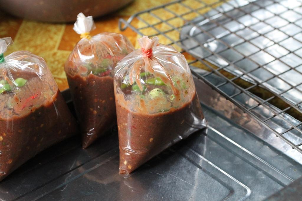 zuppe speciali take away, Thai Street Food, Bangkok, Thailandia