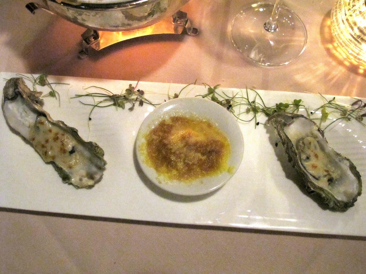 ostrica gratinata, Belvedere, Chef Antonello Arrus, Santa Margherita di Pula