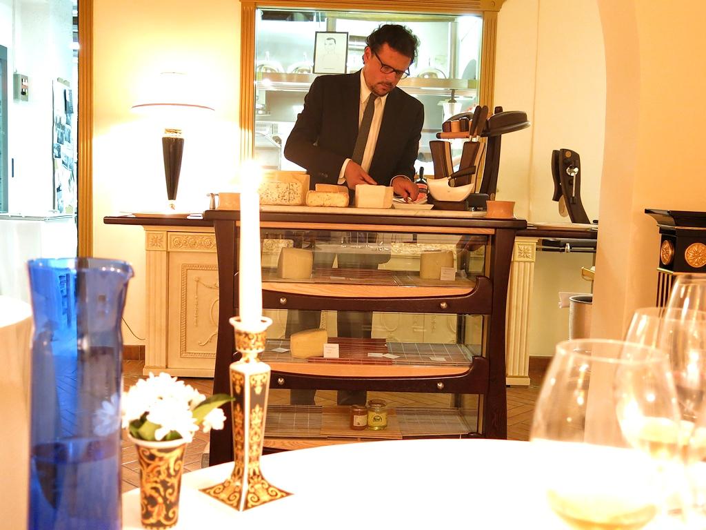 Carrello dei formaggi, Chef Francesco Bracali, Ghirlanda, Grosseto