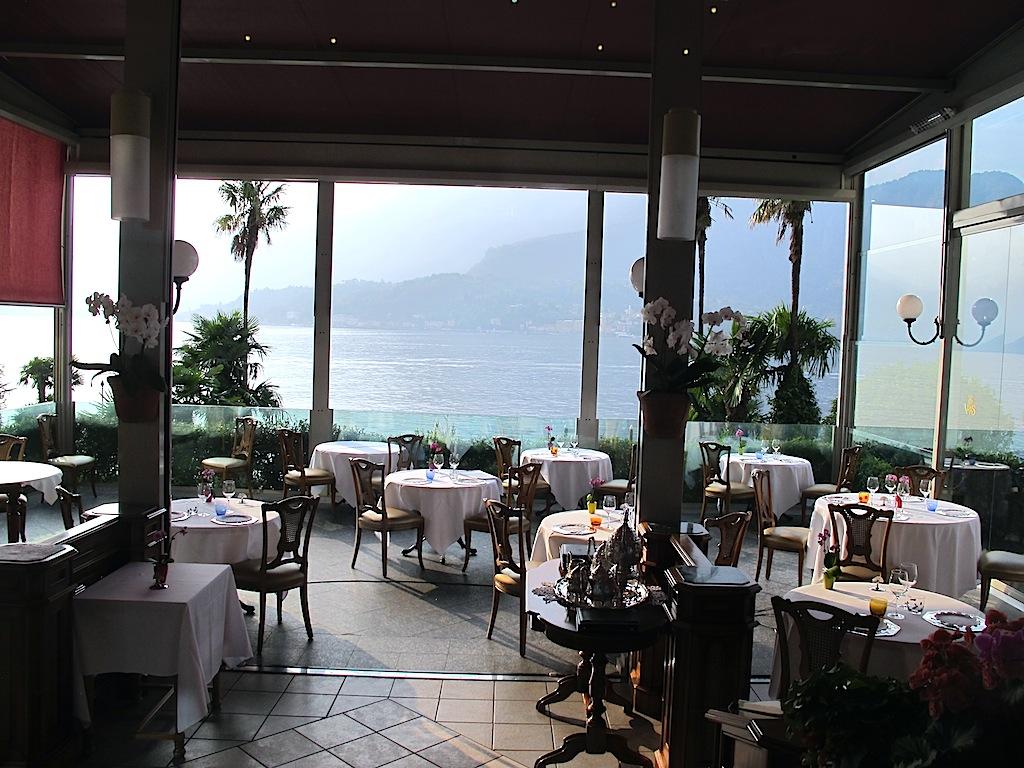 sala,  Mistral, Chef Ettore Bocchia, Bellagio, Como