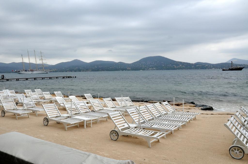 Spiaggia privata, Hotel Residence de la Pinède, Saint-Tropez