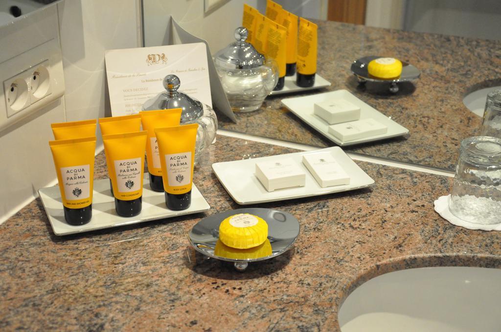 set da bagno, acqua di parma, Hotel Residence de la Pinède, Saint-Tropez