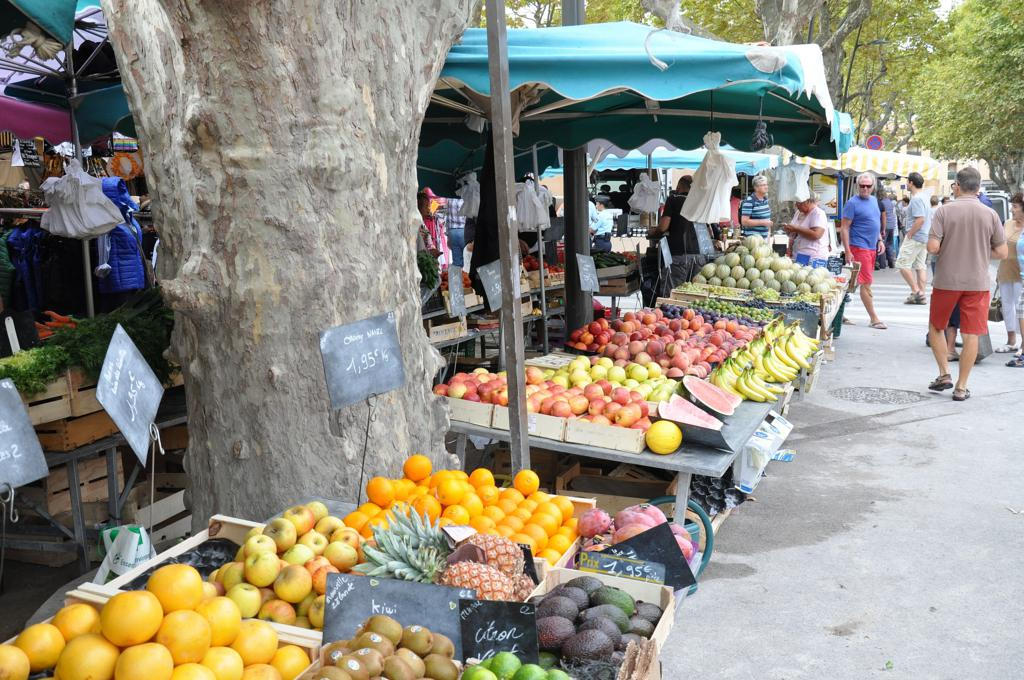 mercato, Saint-Tropez