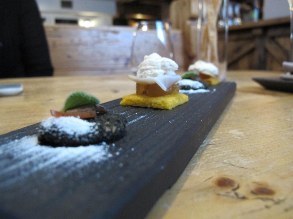 aperitivi, La Tana, Chef Alessandro Dal Degan, Asiago