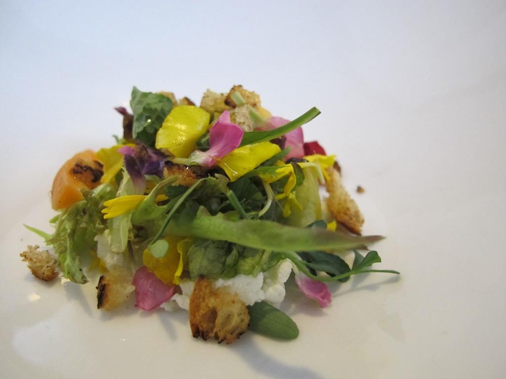 insalata, La Tana, Chef Alessandro Dal Degan, Asiago