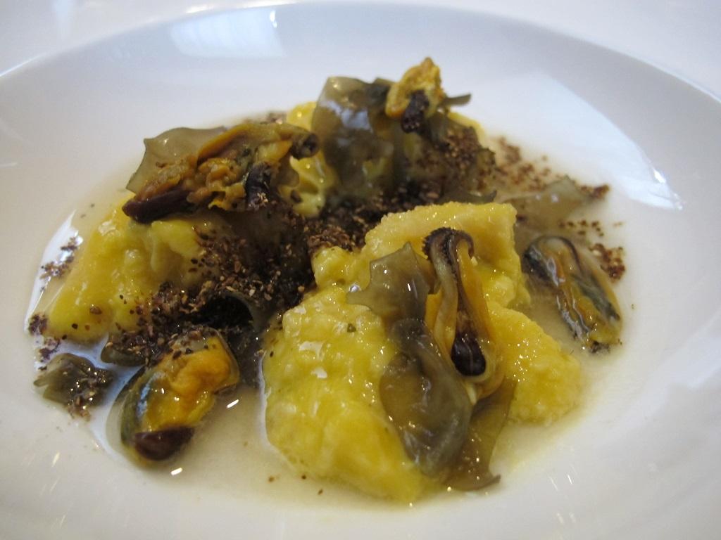 trippa in fricassea, La Tana, Chef Alessandro Dal Degan, Asiago
