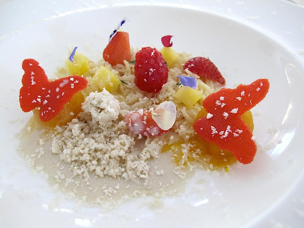 insalata di riso speziato, La Trota, Chef Sandro e Maurizio Serva, Rivodutri, Rieti