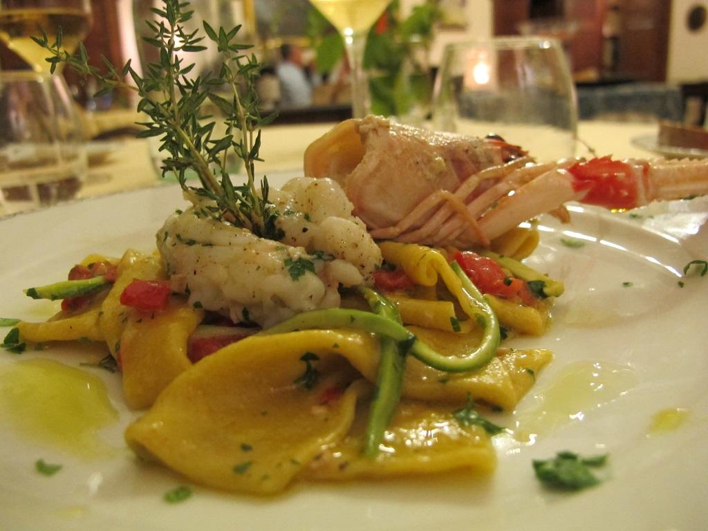 Lasagnetta,Villa Roncalli, Chef Luisa Scolastra, Foligno, Perugia