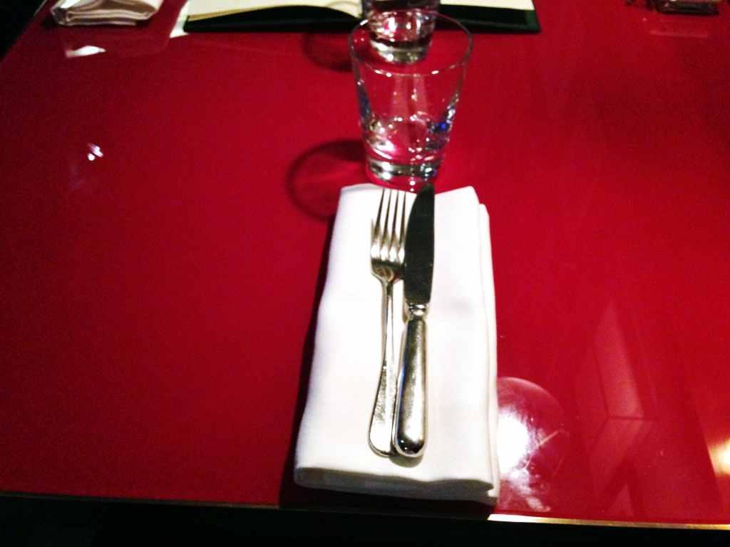 mise en place, Ceresio 7, Chef Elio Sironi, Milano