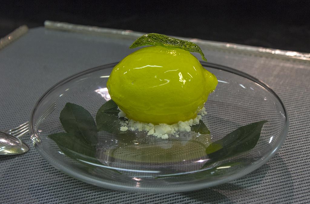 Citron de menton, Epicure au Bristol, Chef Eric Frechon, Paris