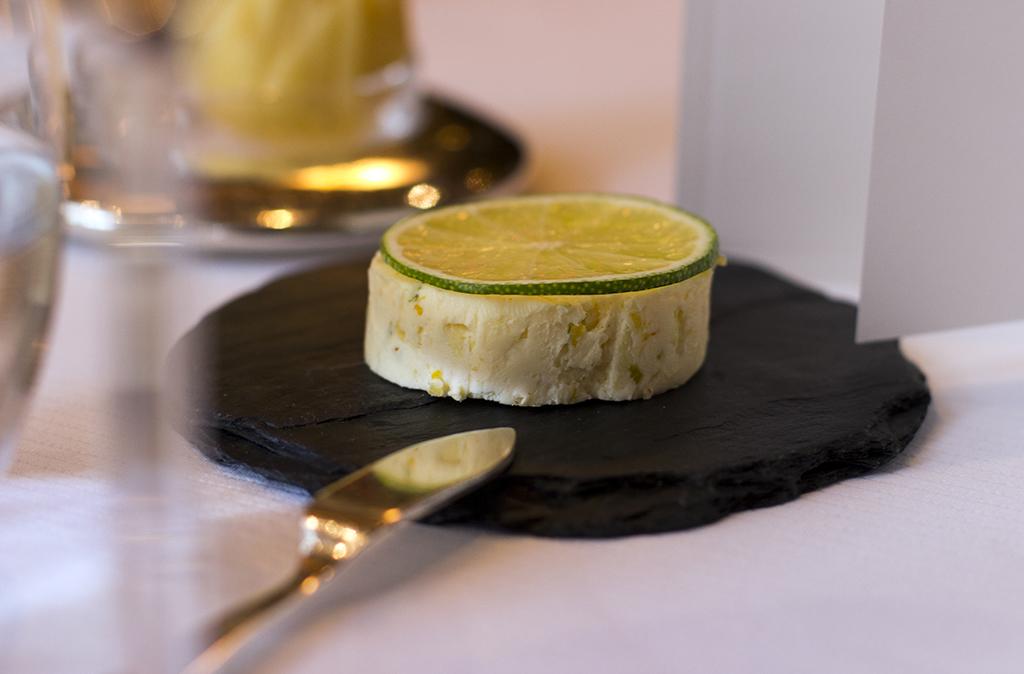 burro agli agrumi, Pierre Gagnaire, Paris
