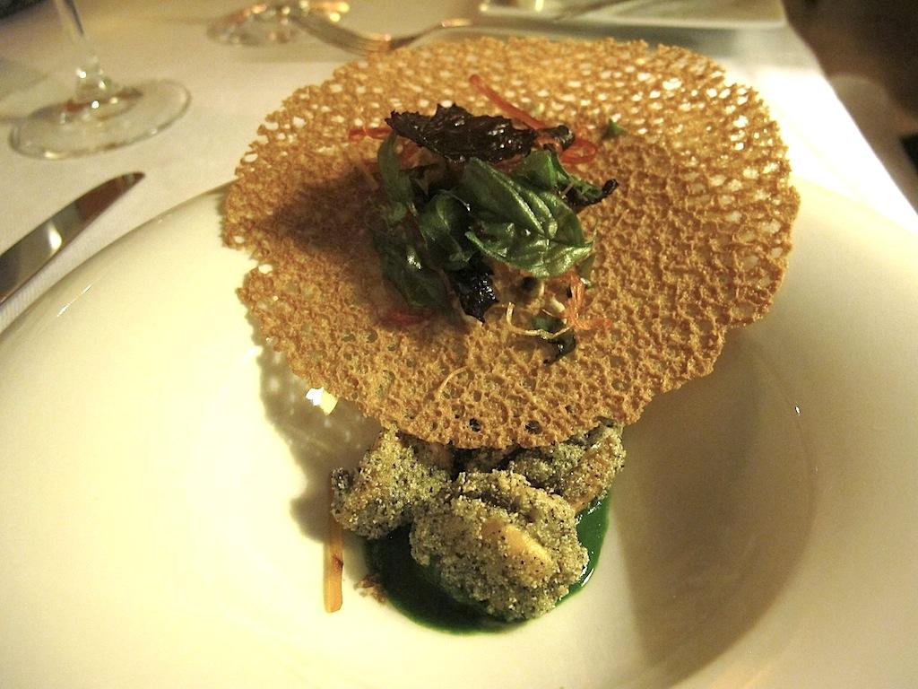 cozze fritte, S'Apposentu, Chef Roberto Petza, Siddi