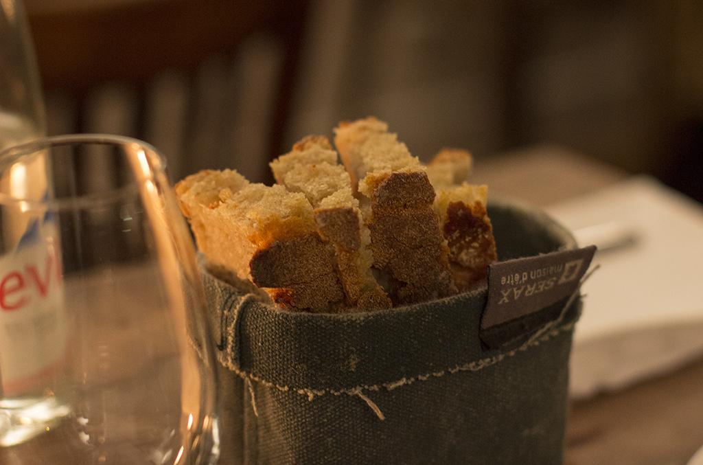 pane, Roseval, Chef Simone Tondo, Paris