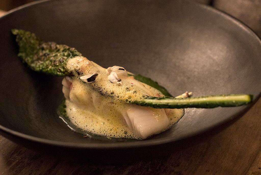 Cabillaud, Roseval, Chef Simone Tondo, Paris