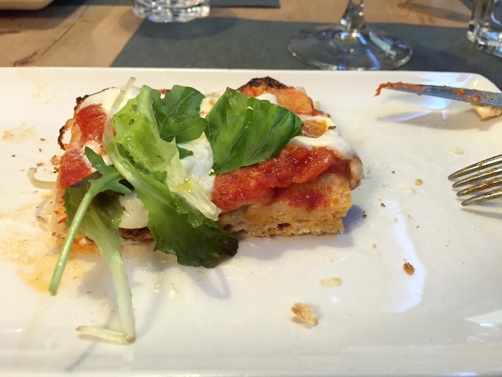 la pizza cotta in teglia, Saporè, Renato Bosco, San Martino Buon Albergo, Verona
