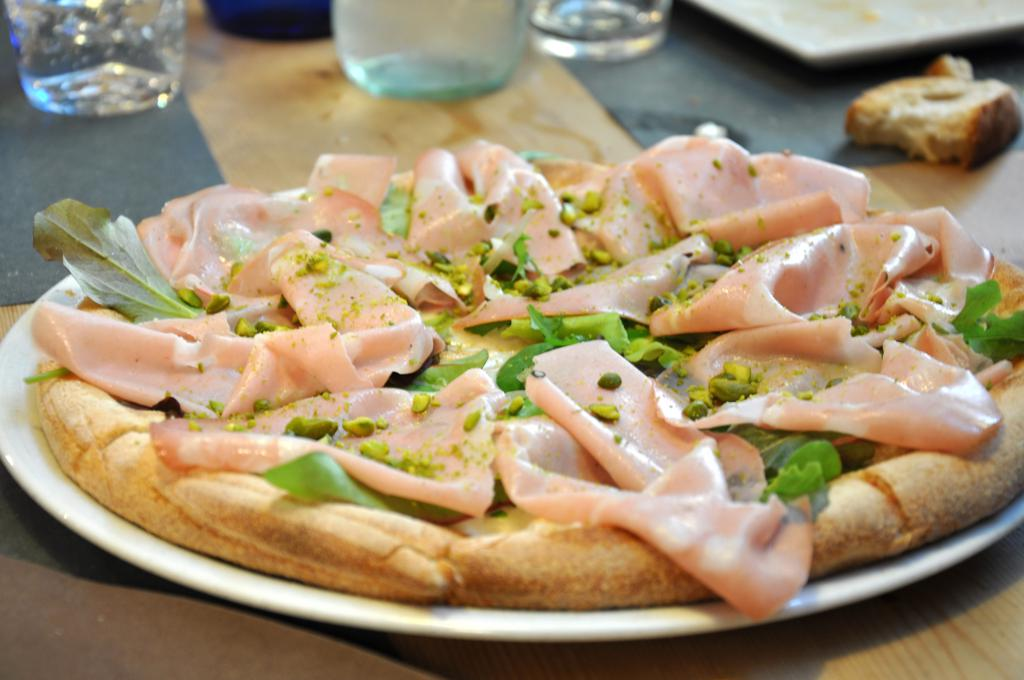 pizza classica, mortadella, misticanza, Saporè, Renato Bosco, San Martino Buon Albergo, Verona
