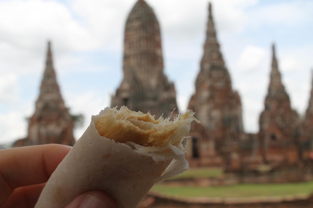 roti sai mai, Thai Street Food, Thailandia, Bangkok