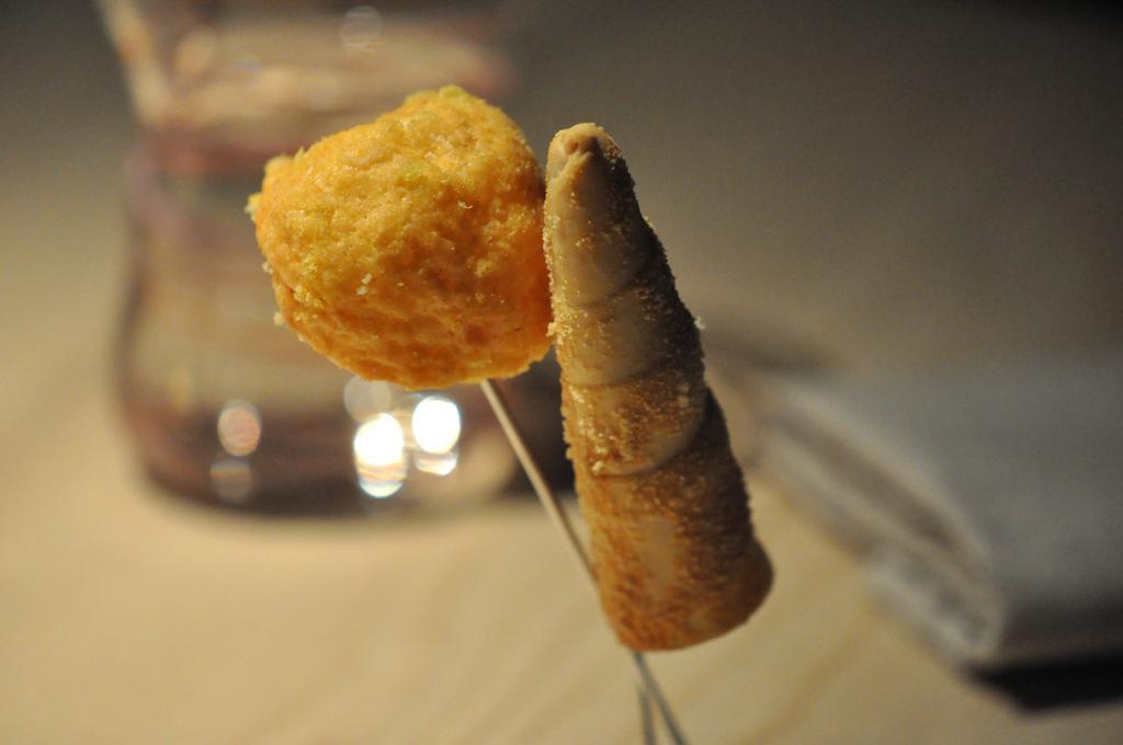 snack, Le Calandre, Massimiliano Alajmo, Sarmeola di Rubano