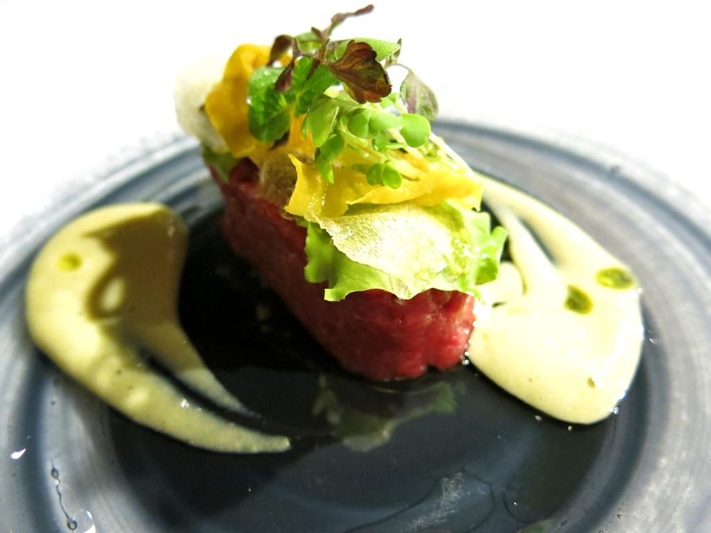 tartare, Locanda di Don Serafino, Chef Vincenzo Candiano, Ragusa Ibla