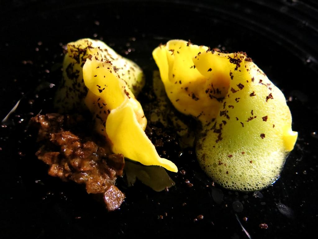 tortelli di pollo, Locanda di Don Serafino, Chef Vincenzo Candiano, Ragusa Ibla