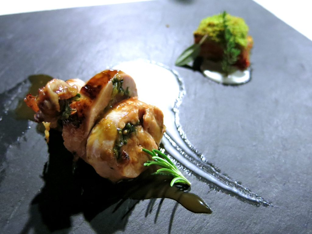 quaglia farcita, Locanda di Don Serafino, Chef Vincenzo Candiano, Ragusa Ibla