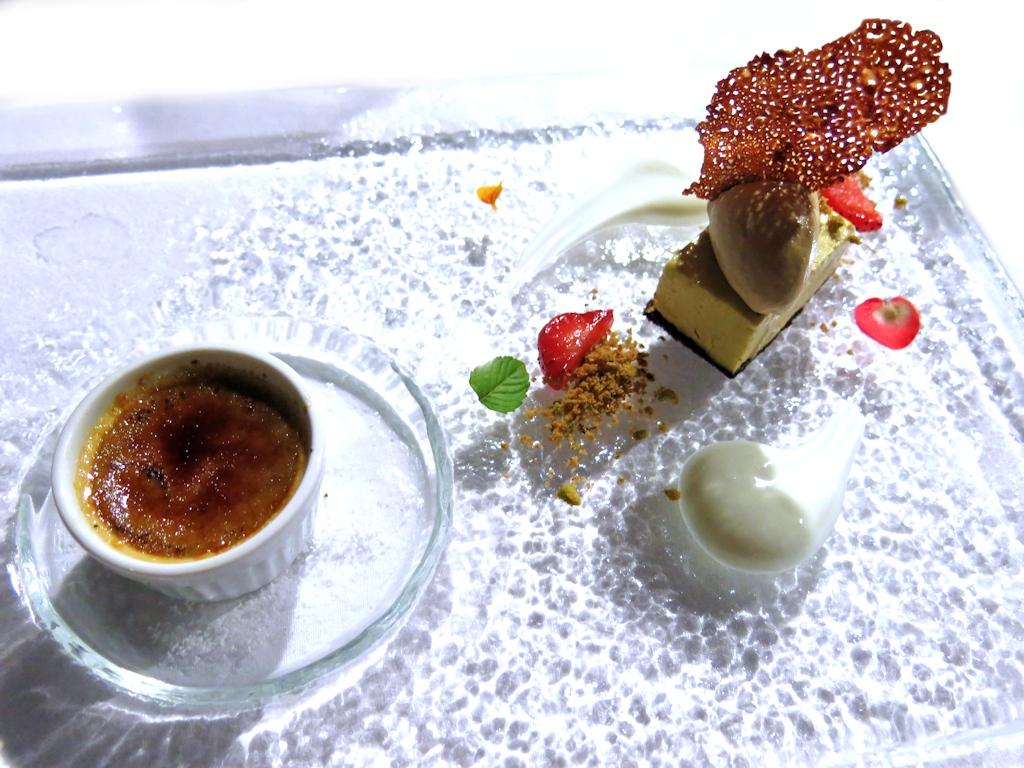 Crème bluee, Locanda di Don Serafino, Chef Vincenzo Candiano, Ragusa Ibla