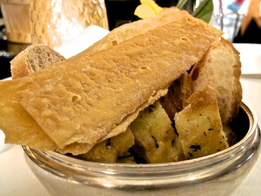 pane fatto in caso, Oro, Chef Davide Bisetto, Venezia