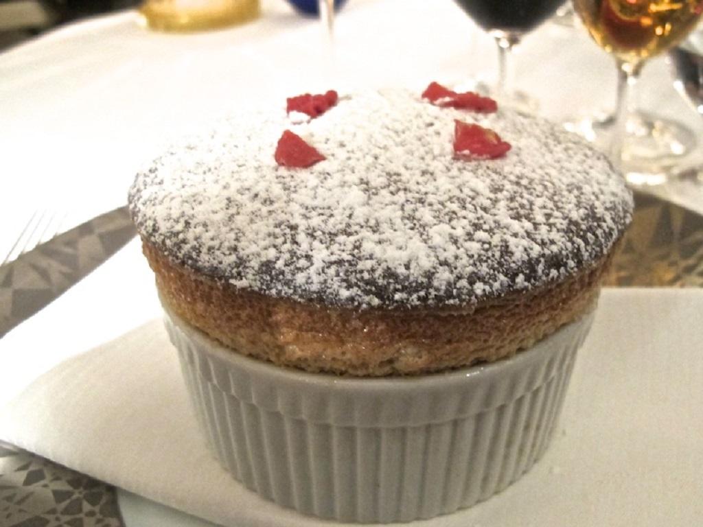 Soufflé, Oro, Chef Davide Bisetto, Venezia