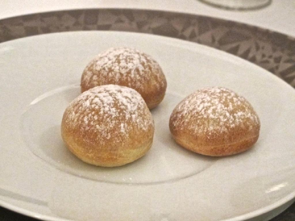 ravioli dolci, Oro, Chef Davide Bisetto, Venezia