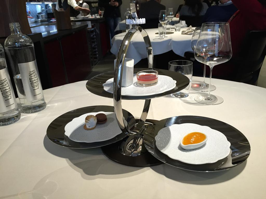 piccola pasticceria, Casa Perbellini, Chef Giancarlo Perbellini, Verona
