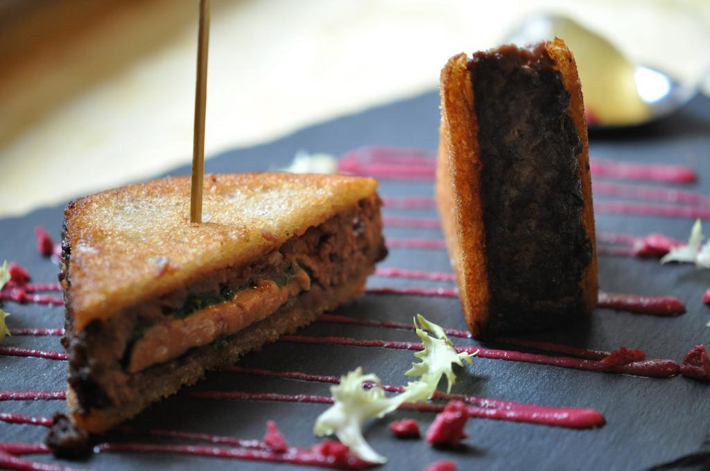 sandwich di cervo, Locanda San Lorenzo, Chef Renzo Dal Farra, Puos D'Alpago
