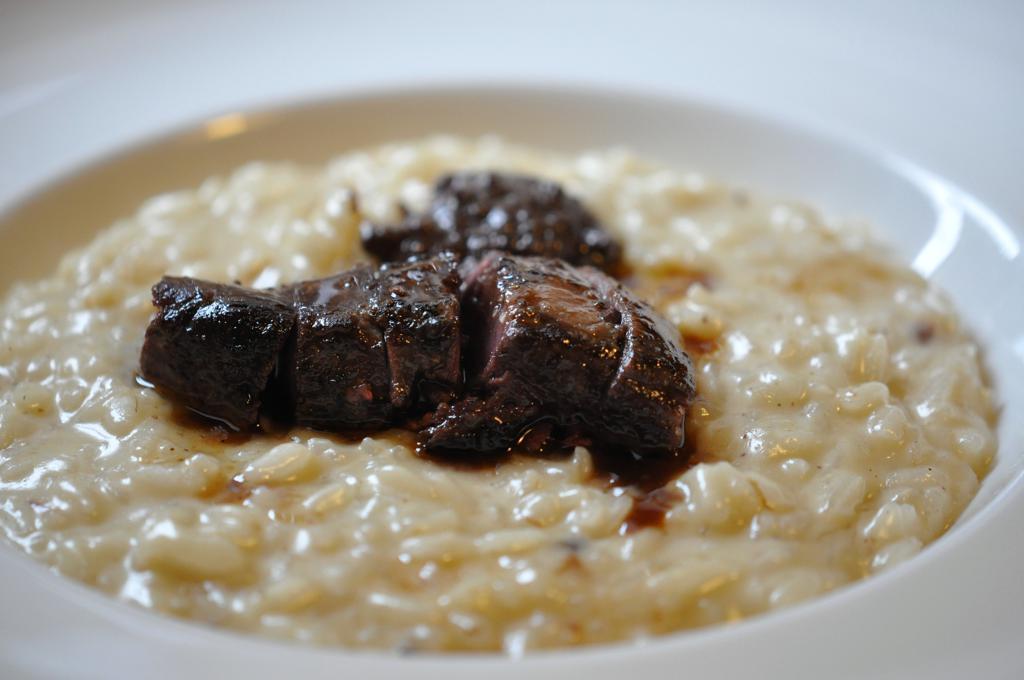 risotto alla  beccaccia, Locanda San Lorenzo, Chef Renzo Dal Farra, Puos D'Alpago