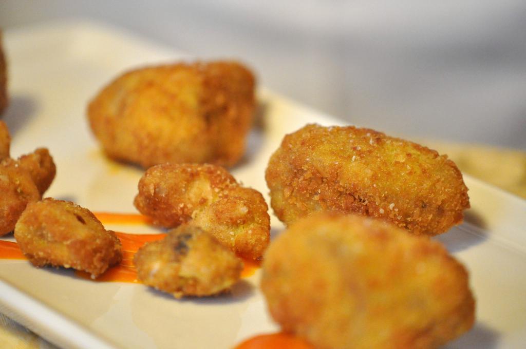 cervello e carro fritti, Locanda San Lorenzo, Chef Renzo Dal Farra, Puos D'Alpago