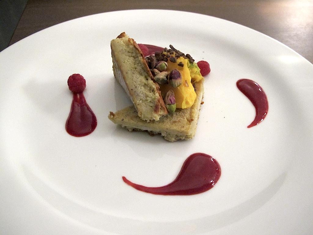 biscotto ghiacciato con cioccolato bianco, Antonello Colonna Vallefredda Resort, Chef Antonello Colonna, Labico