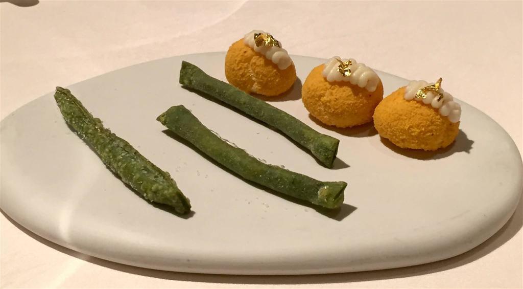 meringa salata al riso oro, Devero, Chef Enrico Bartolini, Cavenago di Brianza