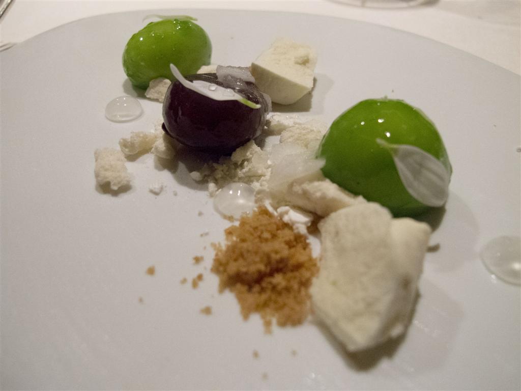 dessert, uva e maraschino, Devero, Chef Enrico Bartolini, Cavenago di Brianza