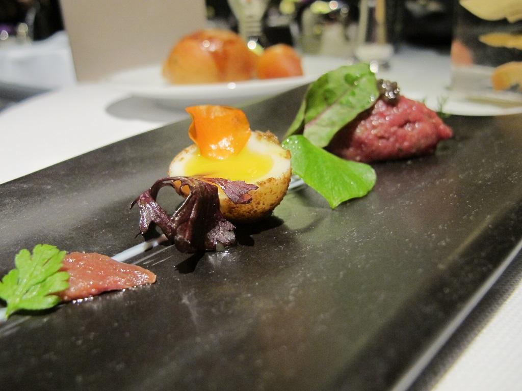 uovo di quaglia, Hotel Eden, Chef Fabio Ciervo, Roma